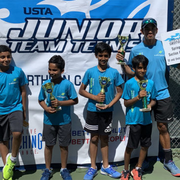 NorCal Tennis Academy once again dominated at 10U and 12U Team Sectionals June 2019