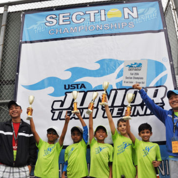 Winners of the USTA Northern California 2014 Fall League Sectional Championships