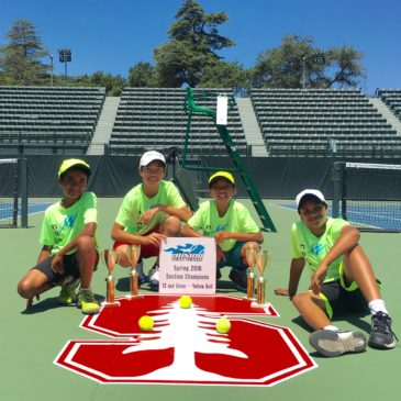 25 Consecutive USTA Team Sectional Championship Titles and counting…
