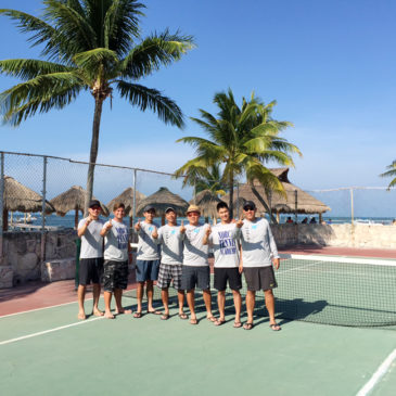 Coaches enjoy the Caribbean sun while staying close to Tennis