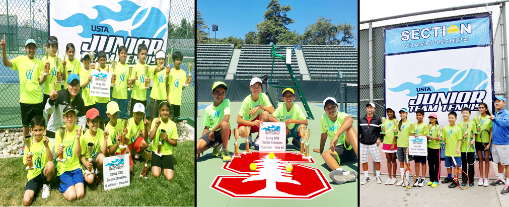MULTI-TEAM ORANGE, GREEN and YELLOW SECTIONAL CHAMPIONSHIP TITLES