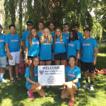 Coach Tom led USTA 16s Zonals Team to its first title in almost a decade, July 2017 Salt Lake city, Utah