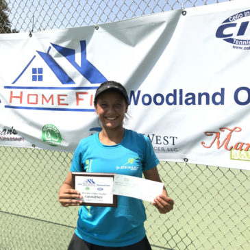Gaby took home her very first Women's Open title August 2018