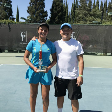 Gaby winning another Women's Open title before heading to play for Saint Mary College of California
