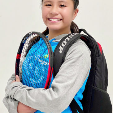 Dunlop Tennis welcomes its new Junior member, Bronte, to its Squad