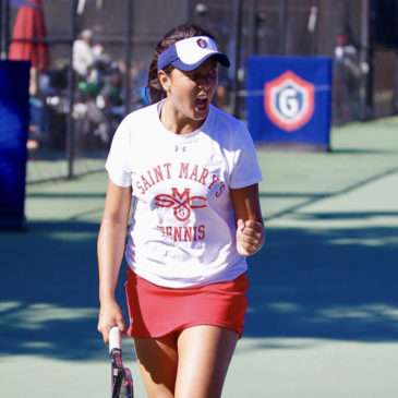 Gaby waits no time to affirm her place in College Tennis