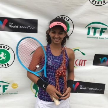 Mahak Jain claimed her first Professional Title August 2019