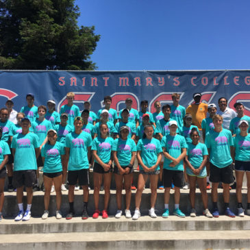 Coach Tom selected to work with players at USTA NorCal Training camp, national selection program.