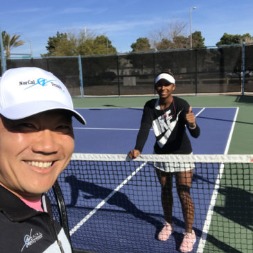 Coach Tom to join WTA player Tyra Black on the Tour